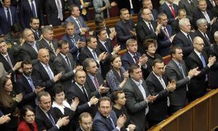 Верховная рада собирается лишить депутатов неприкосновенности