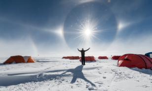 Просто фантастика: на Южном полюсе светит ложное Солнце