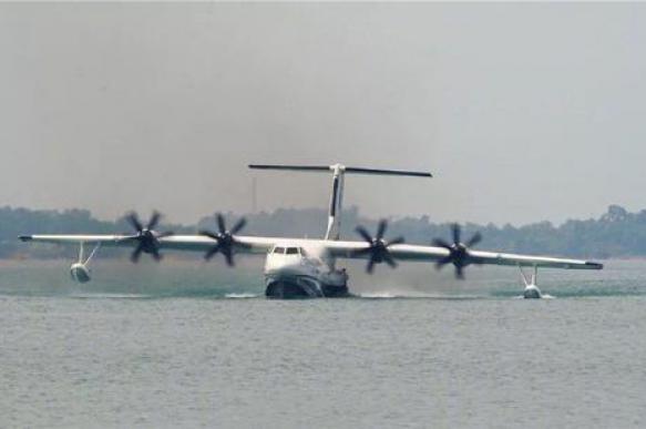 В Китае протестировали лайнер-амфибию AG600