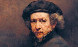 """Ученые: Когда Рембрандт писал свои картины, он использовал много """"трюков"""""""