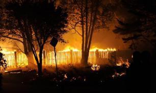 Пожарные ликвидировали возгорание в Новосибирской области