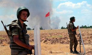"""Турецкие националисты """"устроили темную"""" американскому солдату"""