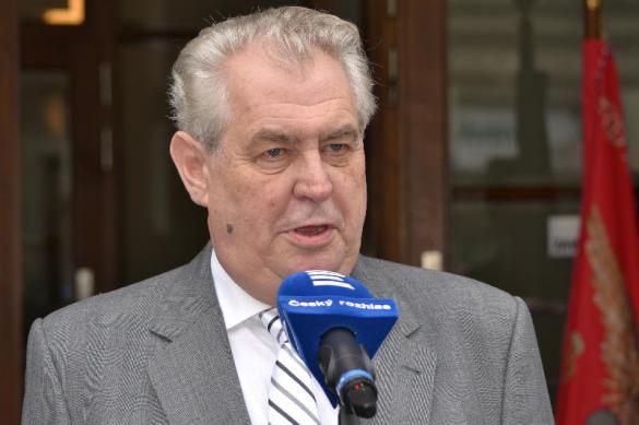 """Президент Чехии: """"Россия в десять раз важнее Франции"""""""