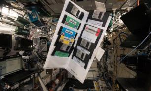 На МКС найдены дискеты с Windows 95 и паспортами космонавтов