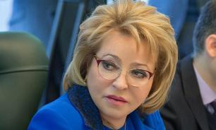 Матвиенко предложила перенести комитеты ООН из США в Европу