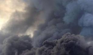 В Тбилиси во время службы загорелся главный кафедральный собор