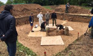 В Смоленске археологи нашли останки одного из приближенных Наполеона
