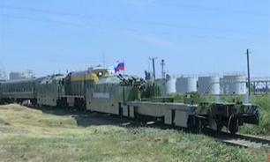 Россия вывела бронепоезда с запасных путей