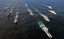 Флот НАТО вошел в порт Одессы, как домой