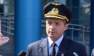 Командир приземлившегося на поле самолета извинился перед пассажирами