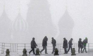 В центральную Россию пришел 30-градусный мороз