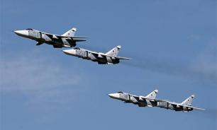 Авиация России отрабатывает массированный ракетный удар