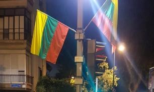 В Израиле перепутали символ ЛГБТ-сообществ с флагом Литвы