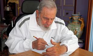 Фидель Кастро принял участие в церемонии чествования героини кубинской революции