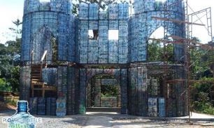 Пластиковую деревню начали строить в Панаме