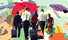 Зачистка от лишних: украинцы бегут с родины семьями