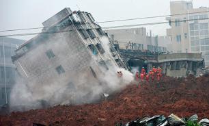 Число пропавших без вести в результате оползня в Китае увеличилось до 91 человека