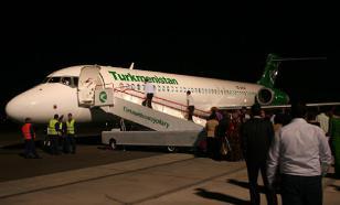 С рейса Туркменабад - Ашхабад высадили 160 человек из-за родни президента