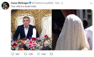 Макгрегор оскорбил жену Нурмагомедова и назвал Хабиба крысой