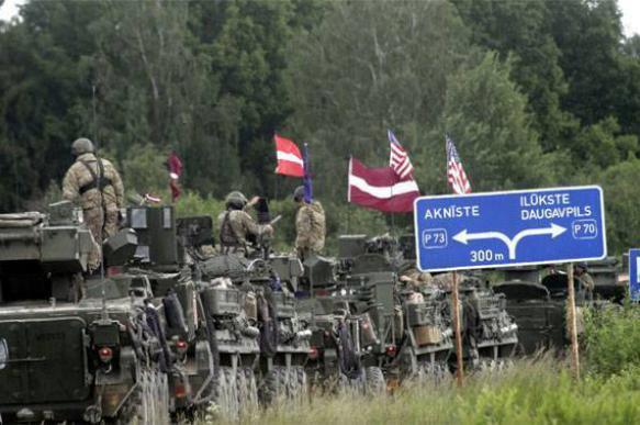 Латвия может разрешить НАТО пересекать границы страны в любом месте