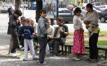На Украине начался цыганский геноцид?