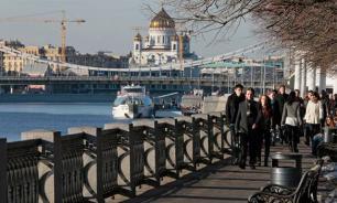 В Москву приходит жаркое лето