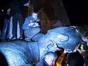 Сносом памятника Ленину по перемирию