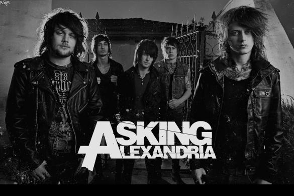 """Asking Alexandria в России: Светлая сторона альбома """"The Black"""""""