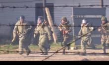 Нападение и захват террористами склада с боеприпасами и вооружением
