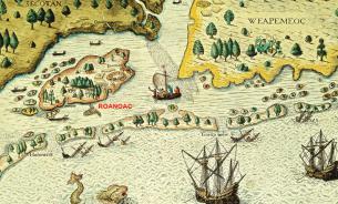 Тайна острова Роанок: история на крови