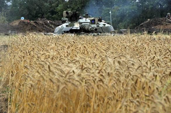 Во время соревнований танковых экипажей пострадали восемь солдат ВСУ