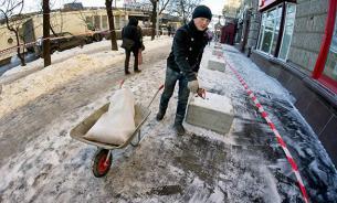 В России могут запретить едкие противогололедные реагенты