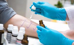Аллергены выявляются путем анализа крови и специальных тестов