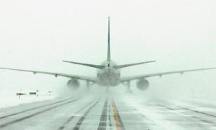 Соединенные Штаты засыпает снегом