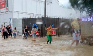 От потопа в Сочи спасет только спутник