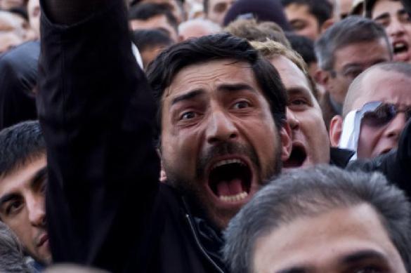 Полиция Грузии не пускает оппозицию на инаугурацию президента