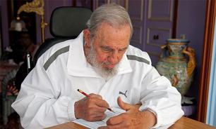 Владимир Путин поздравил Фиделя Кастро с юбилеем