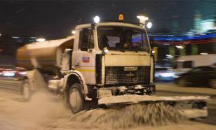 Несмотря на снегопад, на дорогах Москвы удивительно свободно