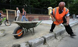 Заммэра Москвы рассказал о причинах постоянной смены плитки в столице