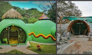 Необычный дом, или Как парень построил экологичное жилье