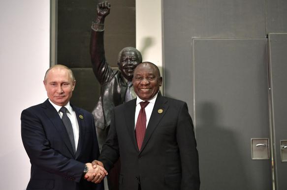 Россия повторит сирийский успех во многих африканских странах