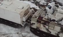 Боевой пуск из арктических ЗРК «Тор-М2ДТ»