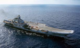 "Опубликовано видео: ""Петр Великий"" отгоняет эсминец НАТО"
