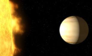 Астрономы нашли гигантскую водяную экзопланету