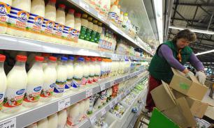 Торговые сети прогнозируют возможный дефицит молока, творога, сыра и сметаны