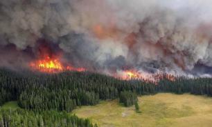 Сильный смог от пожаров в Сибири мешал работе метеорологов