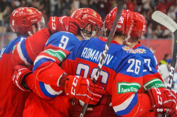 Молодежная сборная России по хоккею обыграла команду Швеции