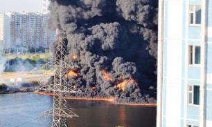 Пожар в Марьино ликвидирован