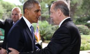 """Эрдоган занервничал и """"наехал"""" на Обаму"""