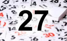 27 сентября: Крест Господень, Тройственный пакт и день смерти комсомола